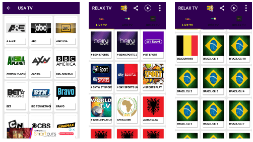 Relax TV APK 2 1 Best IPTV Download & Watch Over 70000