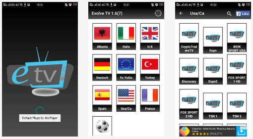 Evolve TV APK 1 6 Download Free & Install Evolve TV for Android, iOS