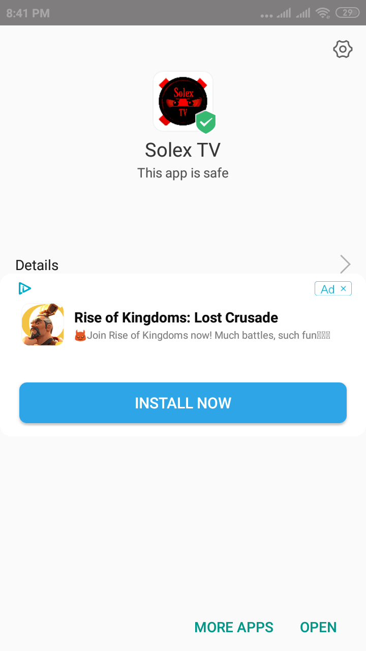 Solex TV APK 2 5 | Download Latest App for Android - OlaTV