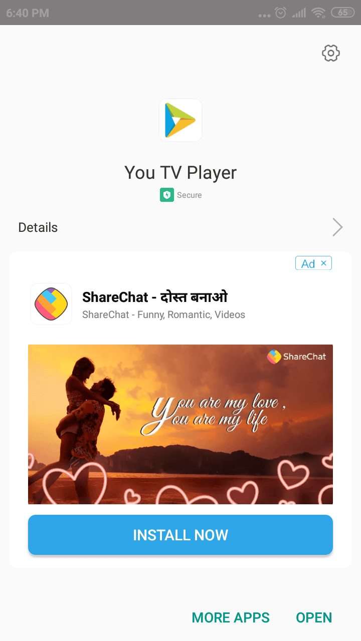 Youtube TV Player