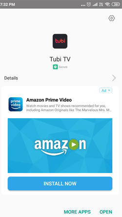 Install Tubi TV on Android Smartphones